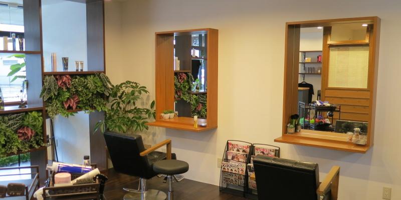 ヘアサロン美容室第3PLACE店内画像